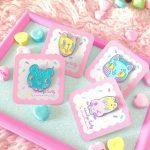 candy pastel animal soft enamel pin