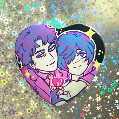 sarazanmai fanart of toi kuji and chikai kuji