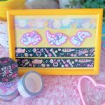 photos of pastel colored washi tape and stickers