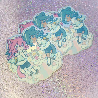 Genshin Impact Merch Sticker kaeya Diluc