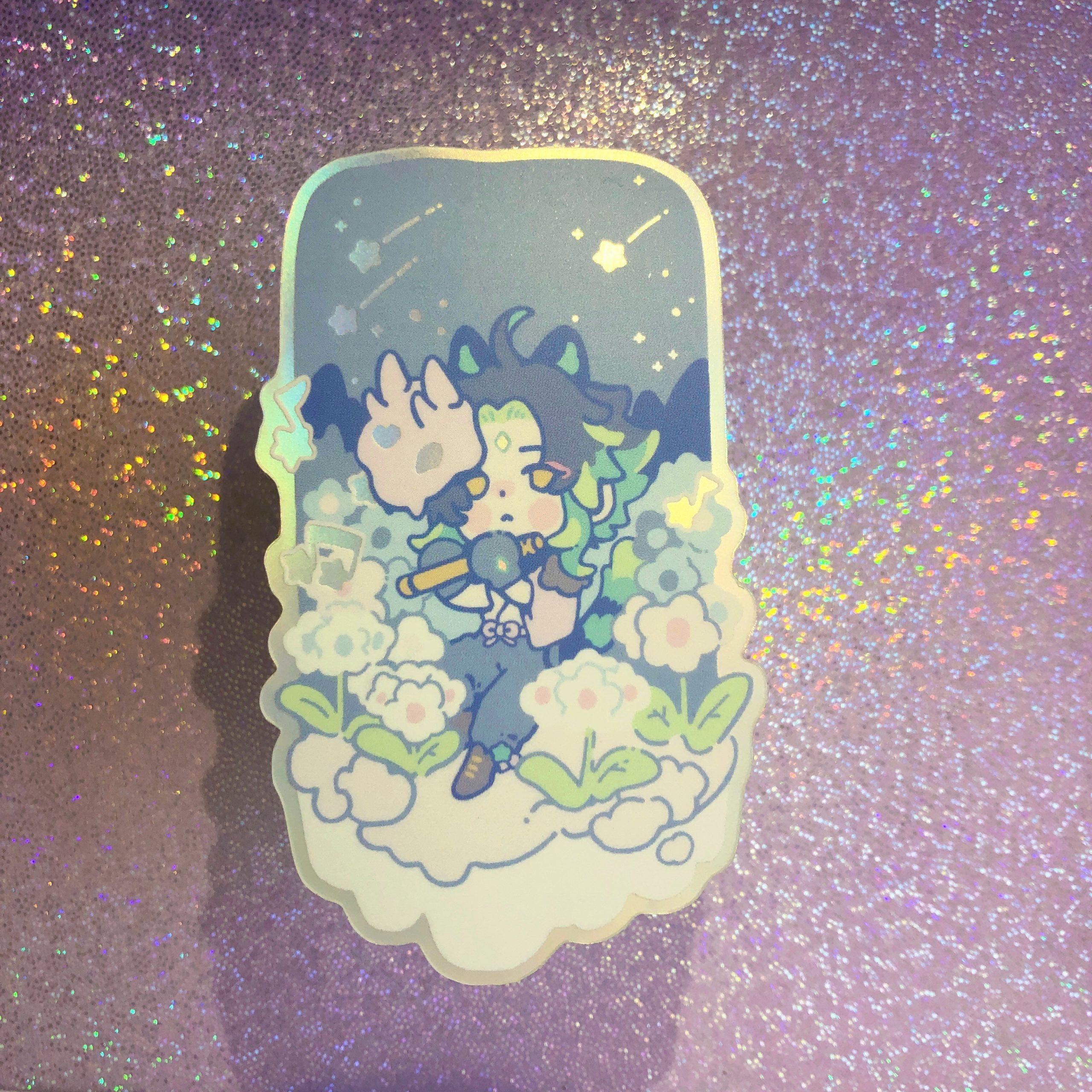 Genshin Impact Merch Sticker Xiao