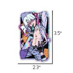 sexy anime boy sticker